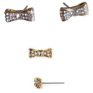 NWT Kate Spade ready set bow stud earrings